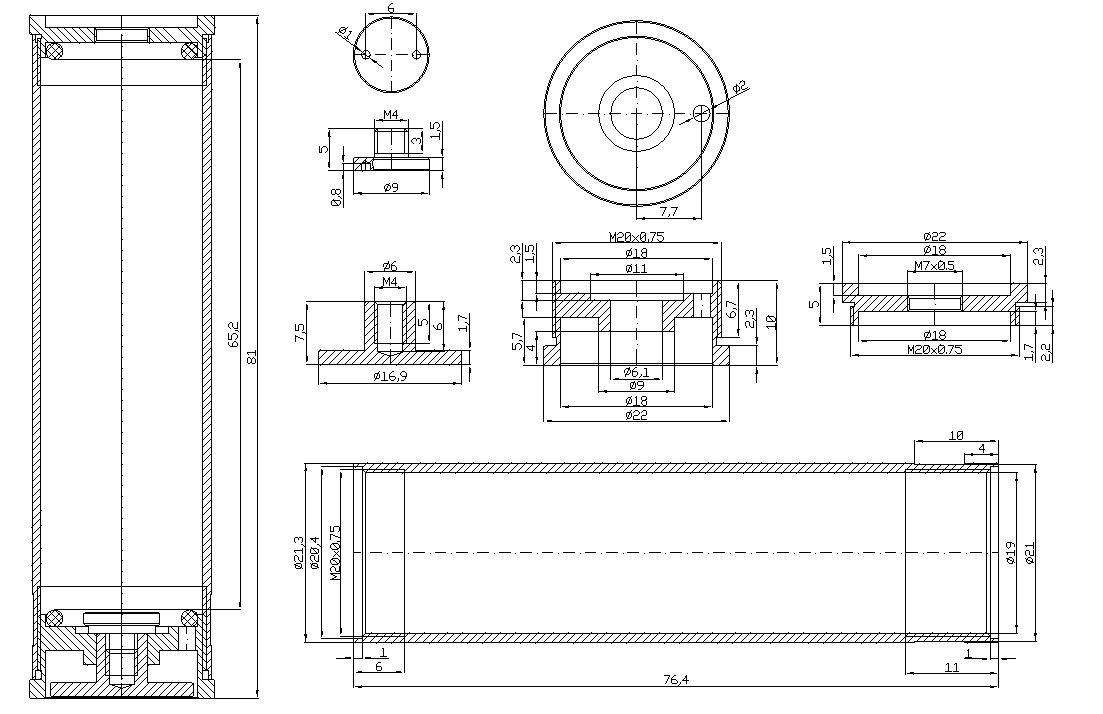 Механика 2 - чертеж